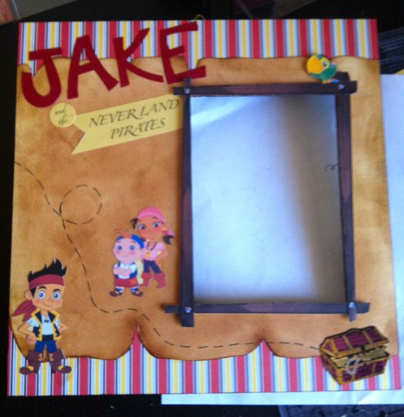 Pirate Frame by PersnicketyFramesEtc on Etsy, $22.00 | My sons ...