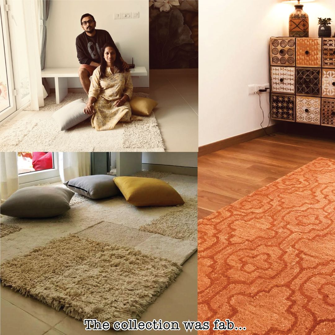Ms Ritika Dhandia Bangalore We Were Designing Our New Home In A Very Nordic English Theme Decor After Looking Buying Carpet Home Decor Store Parents Room Ms living room rugs