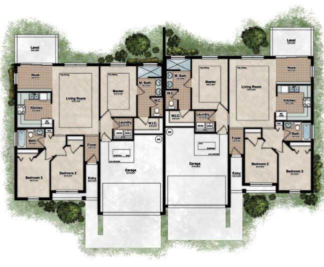 Duplex Floor Plan One Of My Favorites