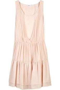 21bca2d337 See by Chloé Tiered silk-chiffon dress