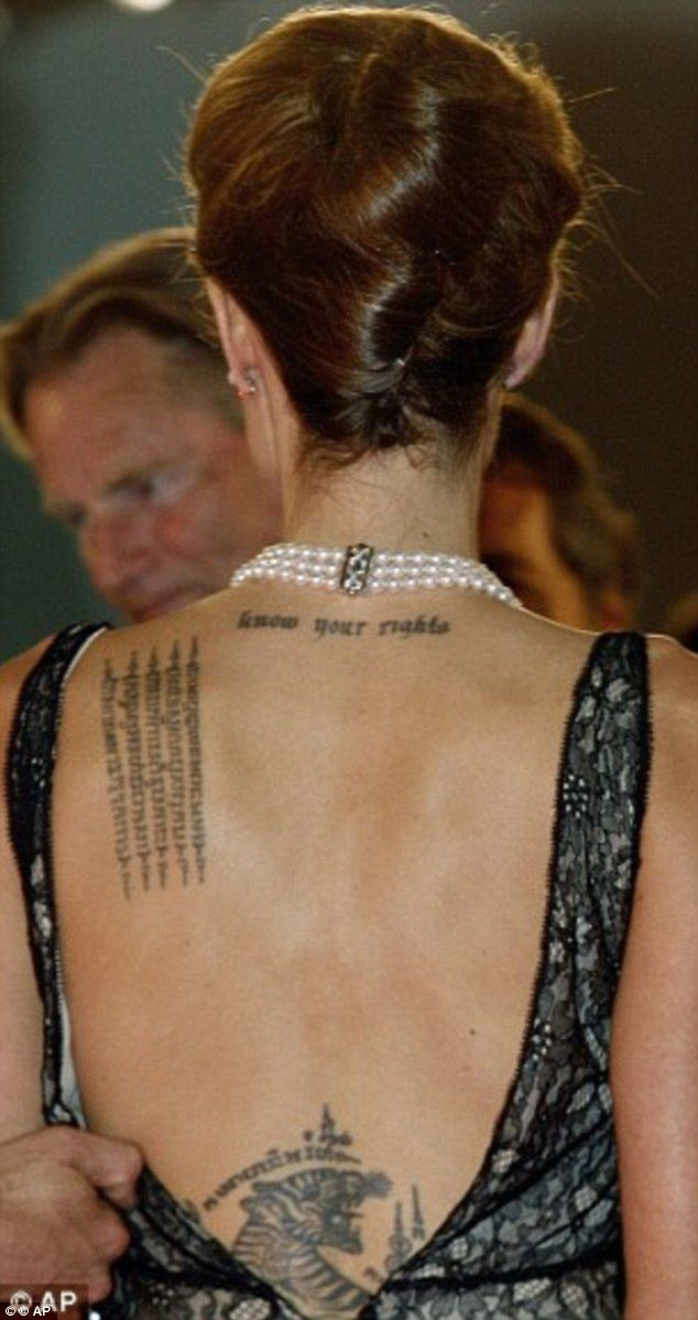 The Best Celebrity Inspirational Tattoos - Celebrity Tattoos