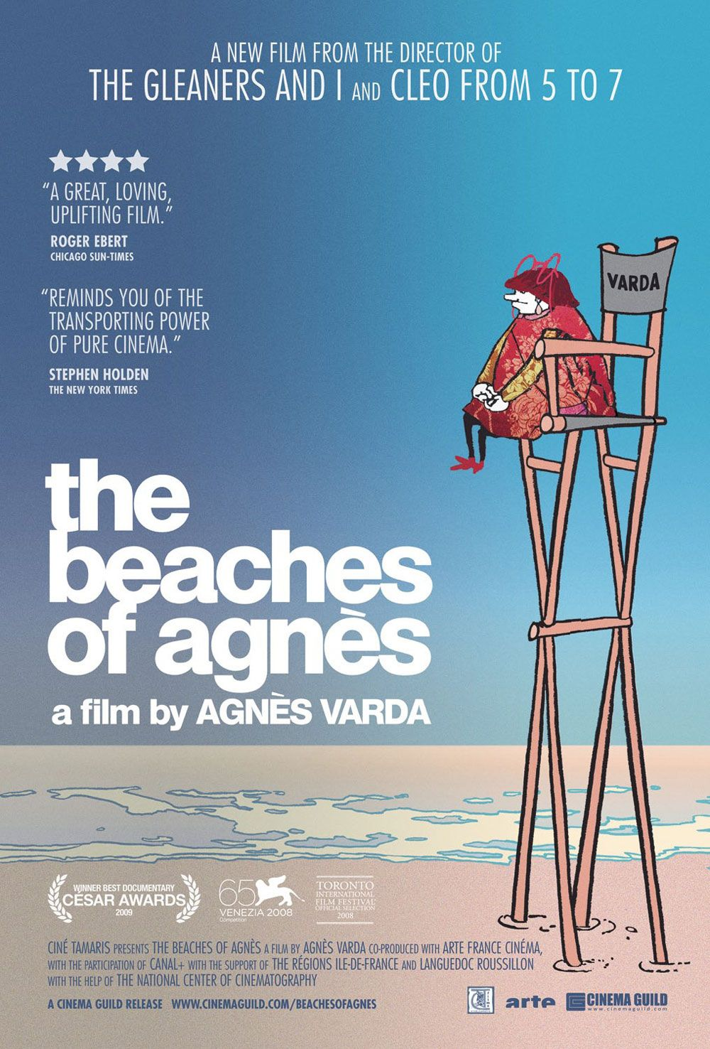 THE BEACHES OF AGNES -- A film by Agnes Varda