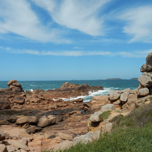 The Pink Granite Coast Bretagne Northern Spain Galicia