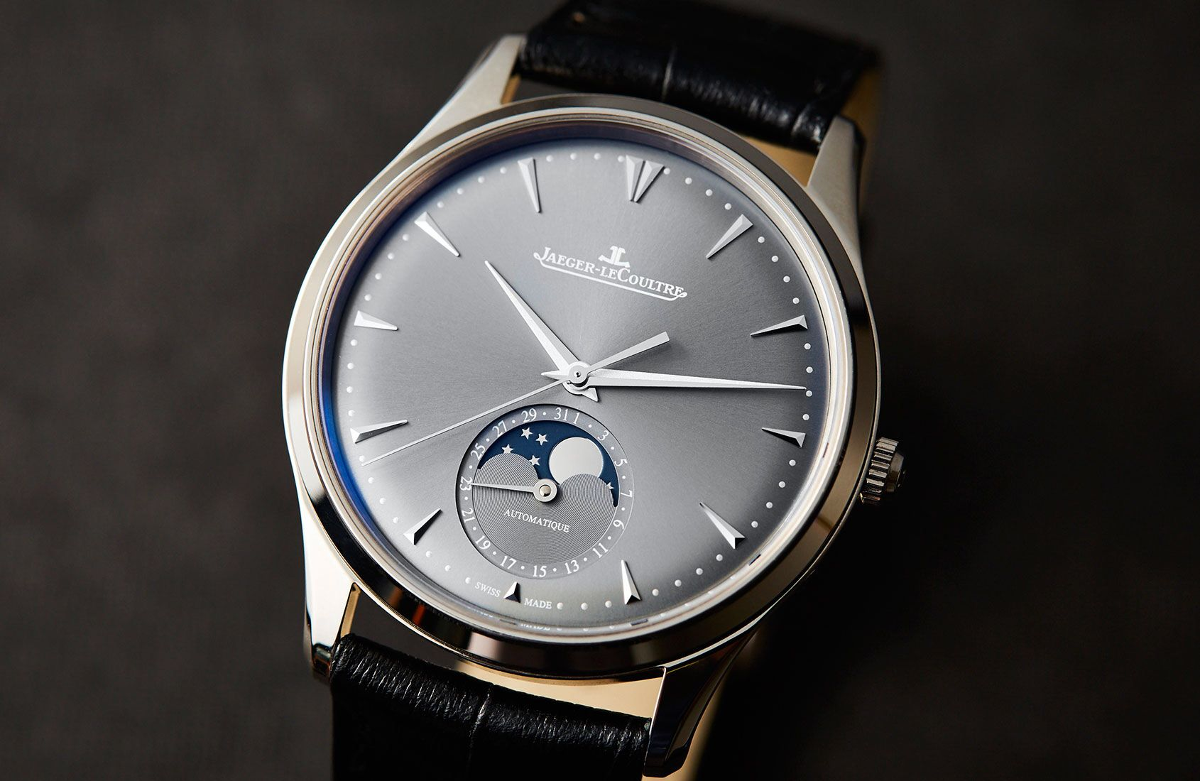 """HANDS-ON: An exercise in subtlety – the Jaeger-LeCoultre Master Ultra Thin Moon"" via @watchville"