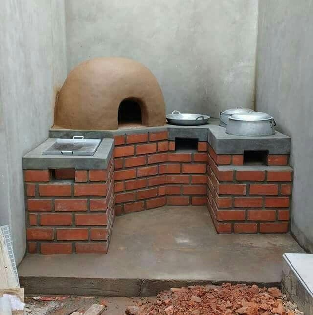 Pin De Jairmartinez En Home Decor Hornos Artesanales Cosinas De Lena Cocina De Piedra