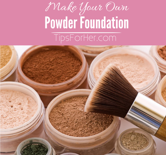 How To Make Your Own Powder Foundation Really easy and