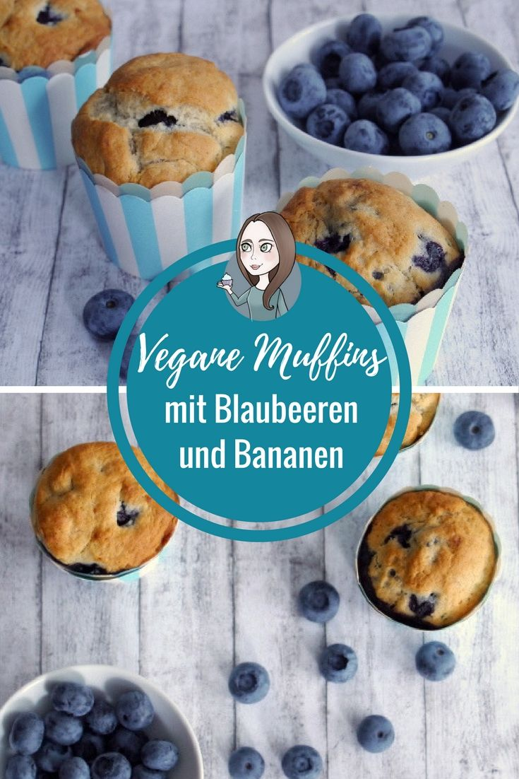 vegane blaubeer bananen muffins rezept rezeptebuch foodbloggerboard pinterest vegane. Black Bedroom Furniture Sets. Home Design Ideas