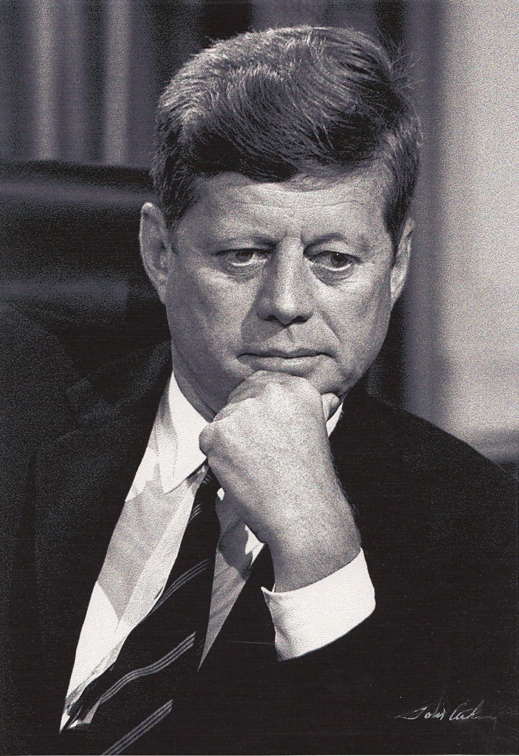 john f kennedy oval office. President John F. Kennedy Prior To An Interview With Chet Huntley And David Brinkley Of NBC News. The Oval Office (recadrage) F S