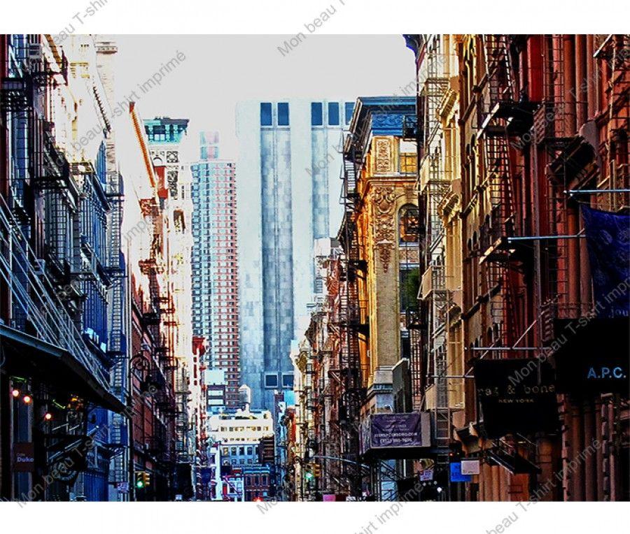 Mercer street T-shirt, New York City