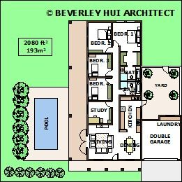 U shaped house plans with pool in the middle courtyard for Arkitek home plans