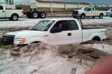 Pictures Of Colorado Springs Hail Storm