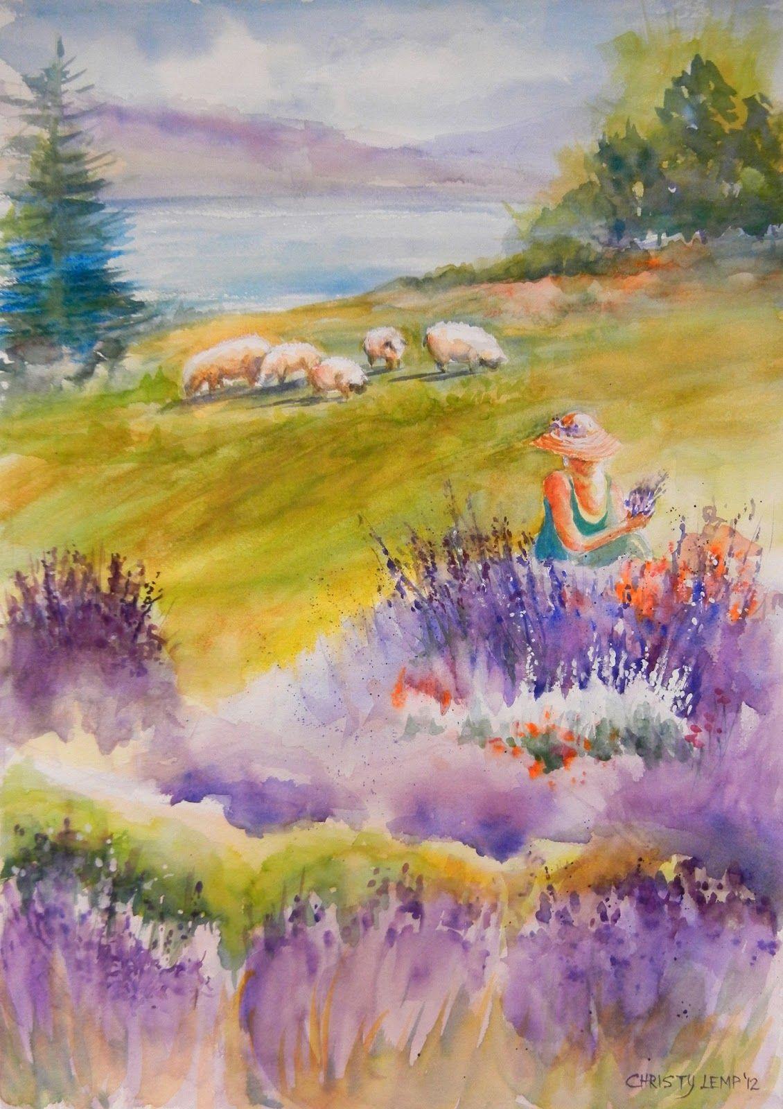 Finger Lakes Lavender Festival: Finger Lakes Lavender Festival Art Poster Contest