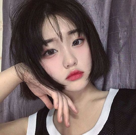 Pinterest adesejar haircareasda, Coiffures coréennes