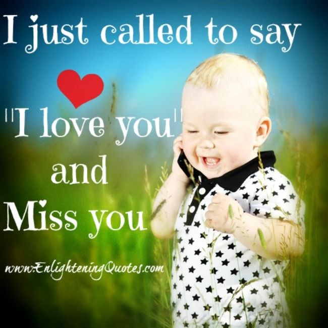 Called to i say love just you i