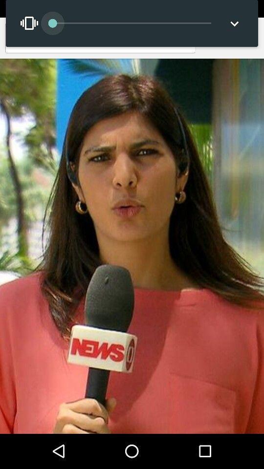 Brazilian TV Reporter Andreia Sadi Gorgeous Women