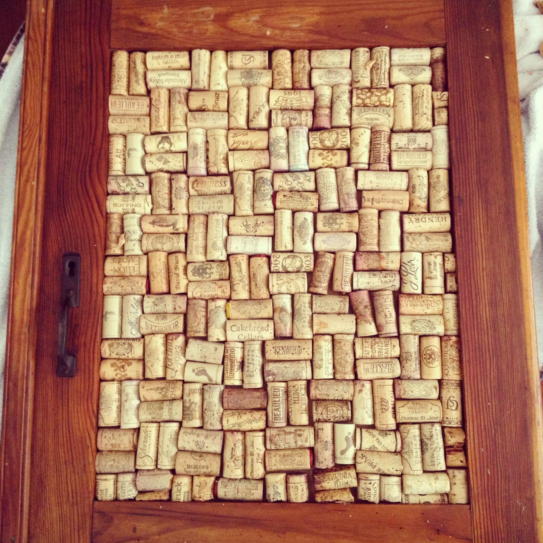 Wine cork board made from an old window | Ideas | Pinterest | Cork ...