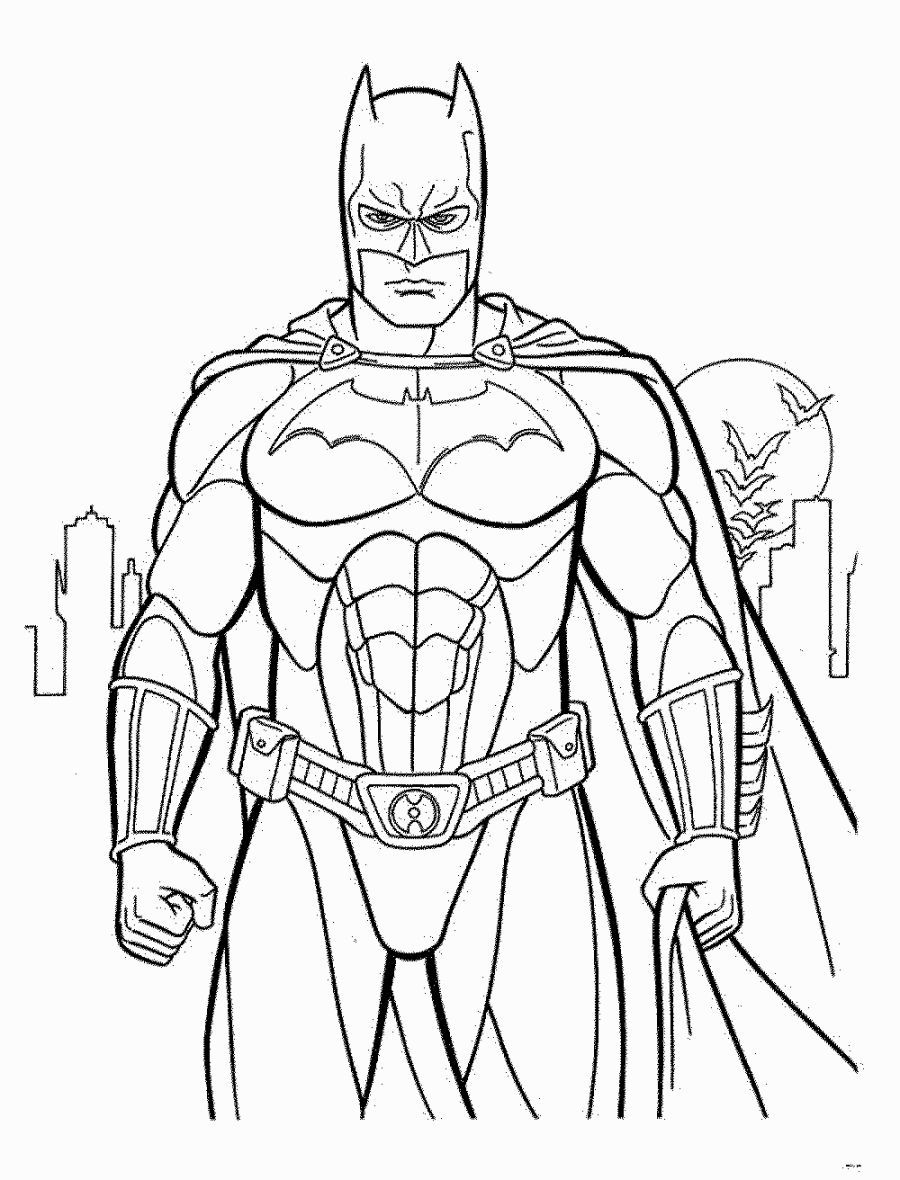 Batman Coloring Page Superhero Coloring Pages Superhero Coloring Batman Coloring Pages