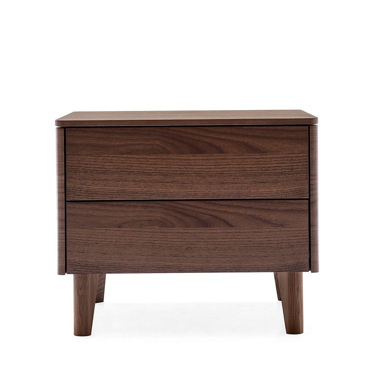 Boston Nightstand Calligaris, Wooden nightstand, Bedroom