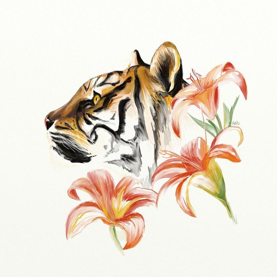 Tiger Lily! I think I found my tattoo!! | Tiger tattoo ...