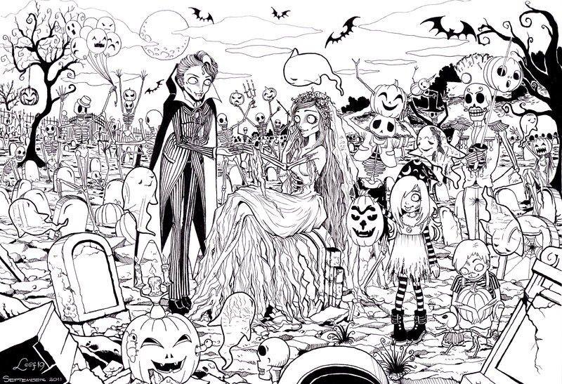Zombies Halloween Coloring Free Halloween Coloring Pages Halloween Coloring Pages