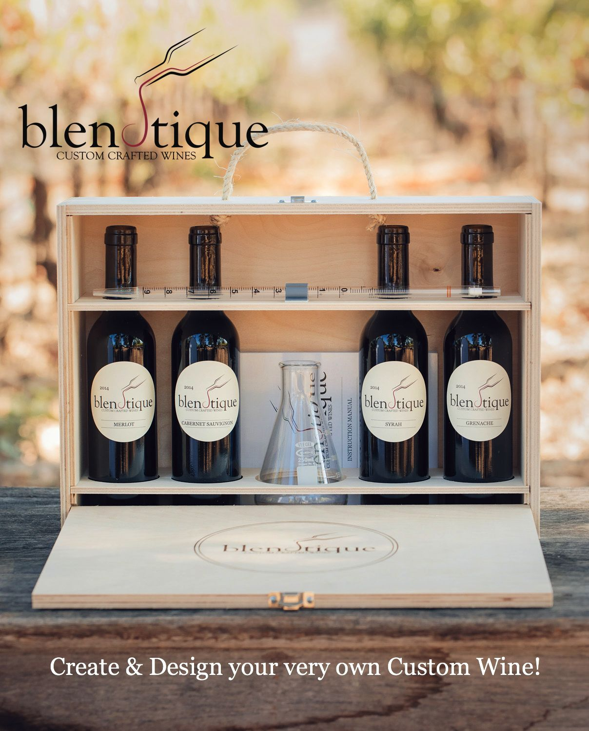 The Perfect Gift for the Winemaker in all of us. Become your own favorite Winemaker