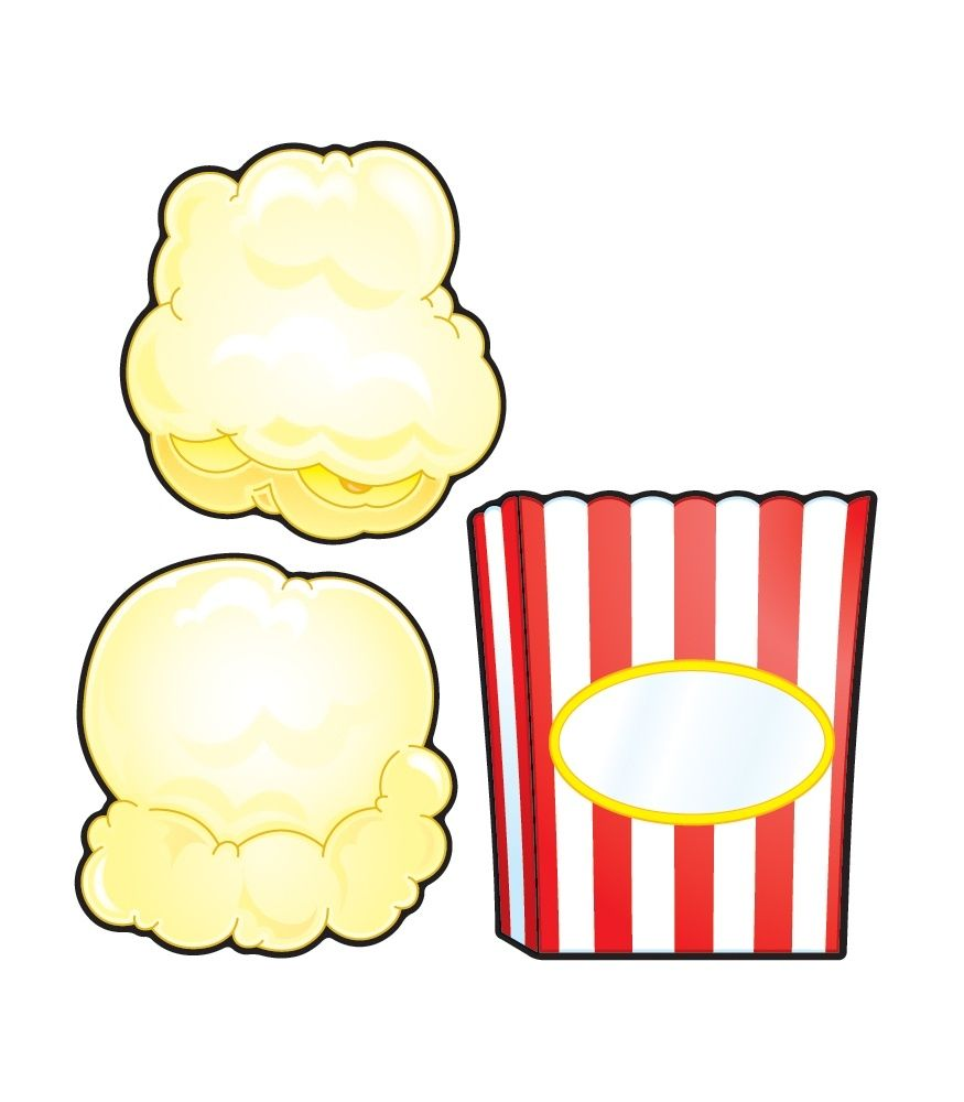 Single Popcorn Kernel Clipart Free Clip Art Popcorn Theme Classroom Geometric Coloring Pages