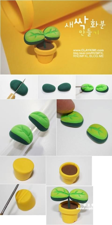 How to make bean sprout clay art step by step diy tutorial how to make bean sprout clay art step by step diy tutorial instructions how to solutioingenieria Image collections