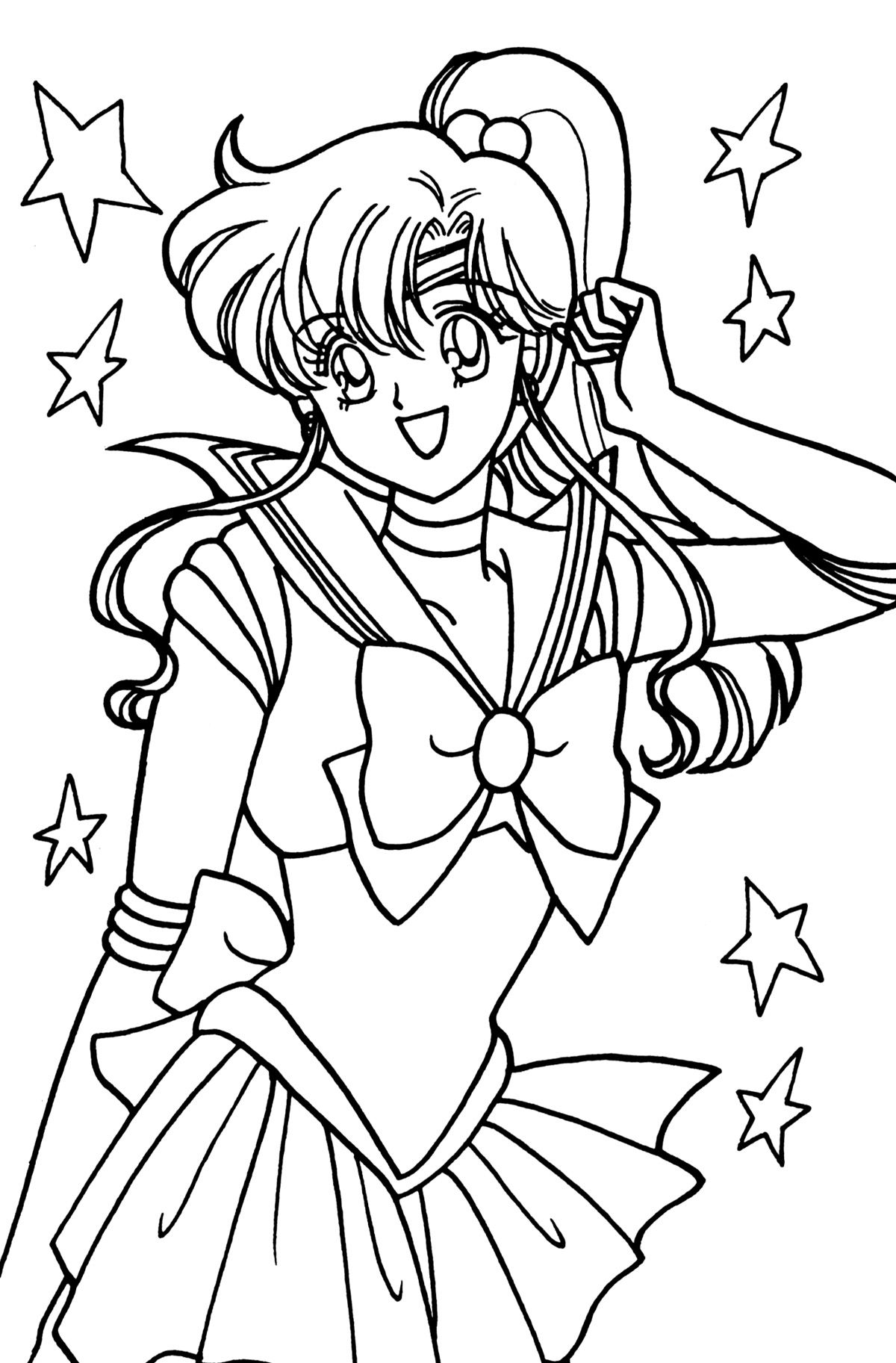 Jupiter068 Jpg 1200 1825 Sailor Moon Coloring Pages Moon Coloring Pages Sailor Moon Crafts