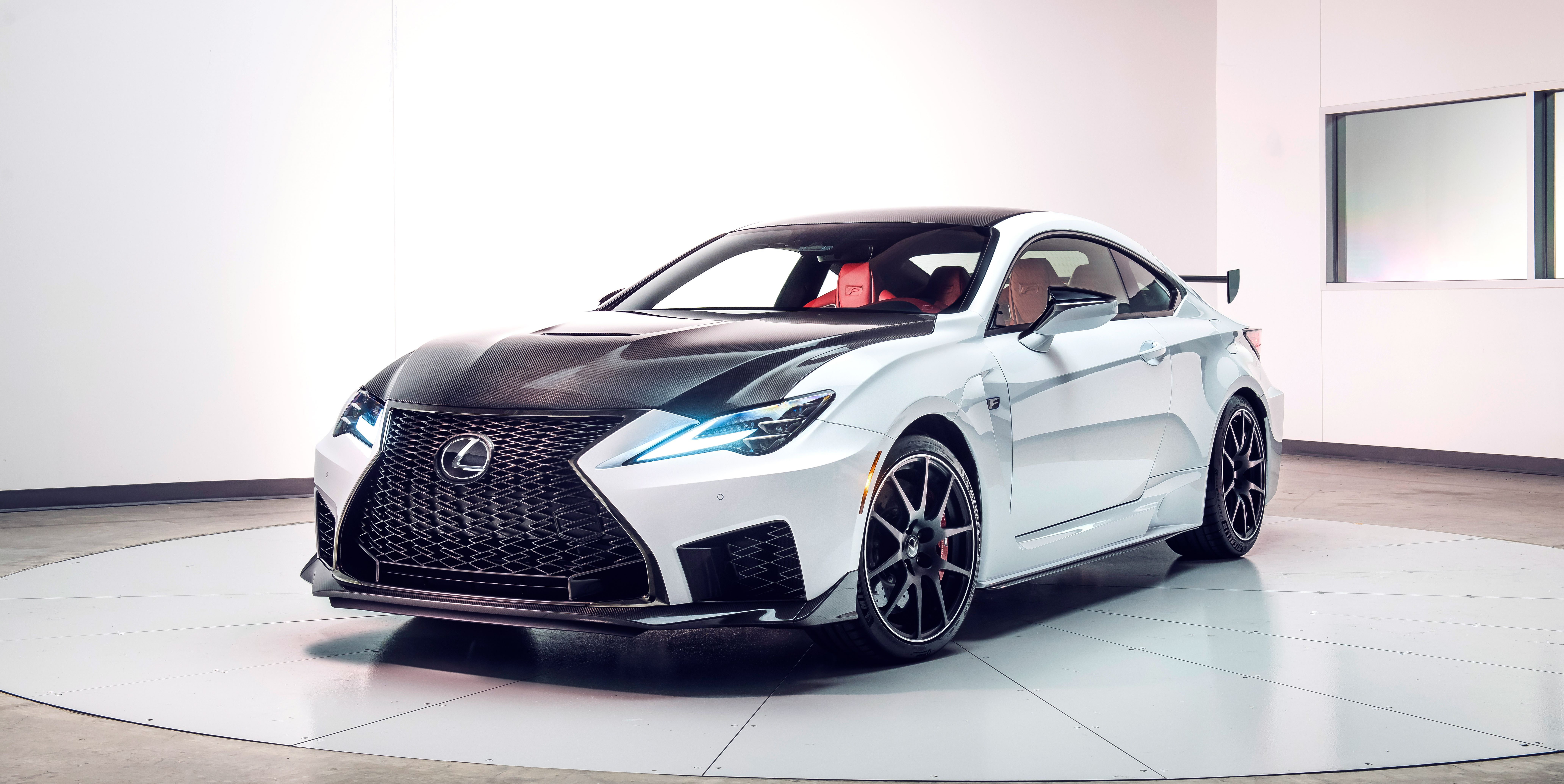 2020 Lexus RC F Updated V8 Sports Coupe Adds a Track