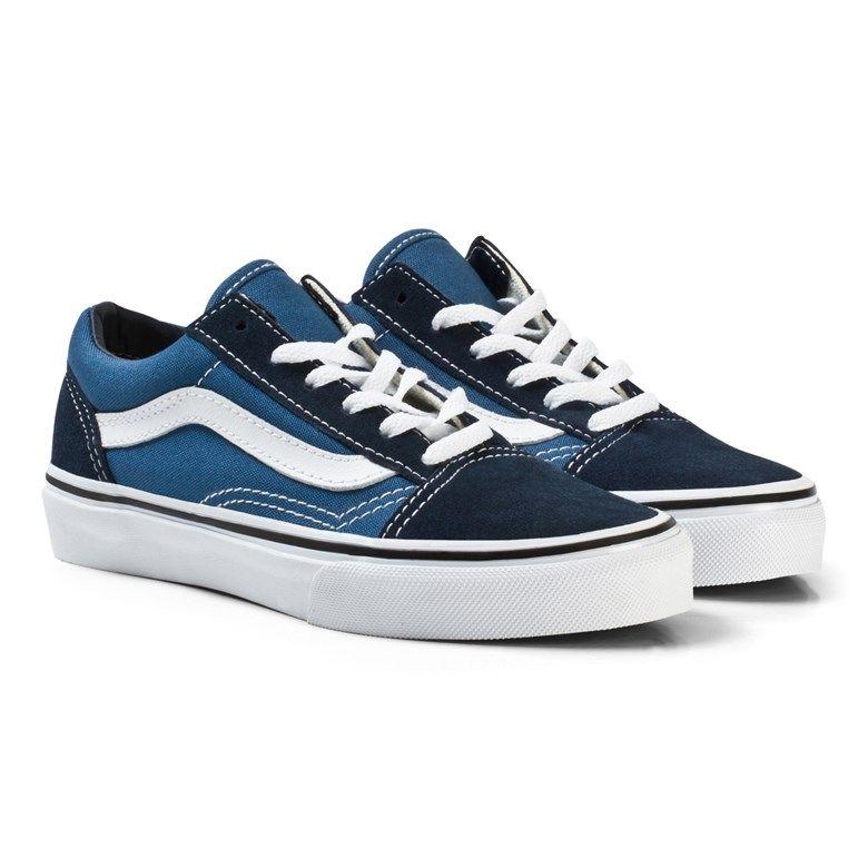 Vans Old Skool Shoes Navy Blue / True