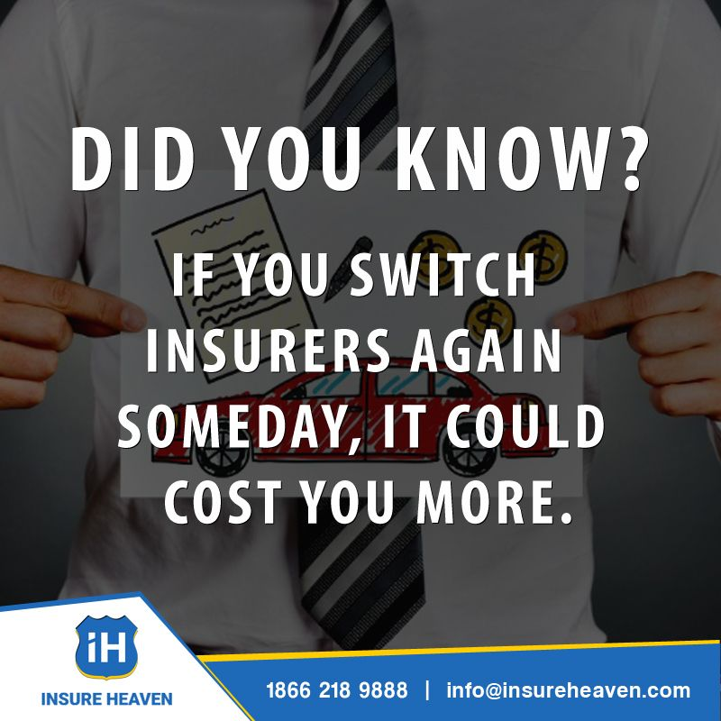 Don T Cancel Your Insurance Before You Have The New Policy In