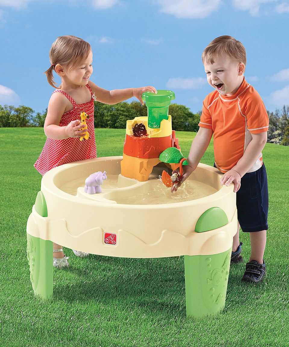 another great find on zulily safari splash water table by step2
