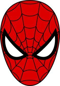 Spider Man Mask From Cardboard Templates Nextinvitation Templates In 2020 Spiderman Face Spiderman Mask Spiderman Coloring