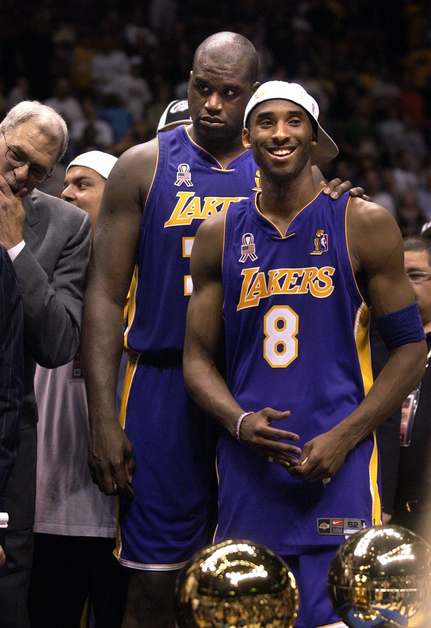 I got the chance to see Shaq and Kobe play when I was younger. Granted I  don t remember anything since I was so young d18f30c31