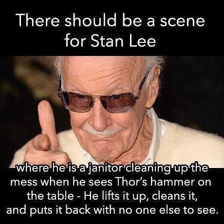 This would be amazing! #stanlee #marvel #thor #tho