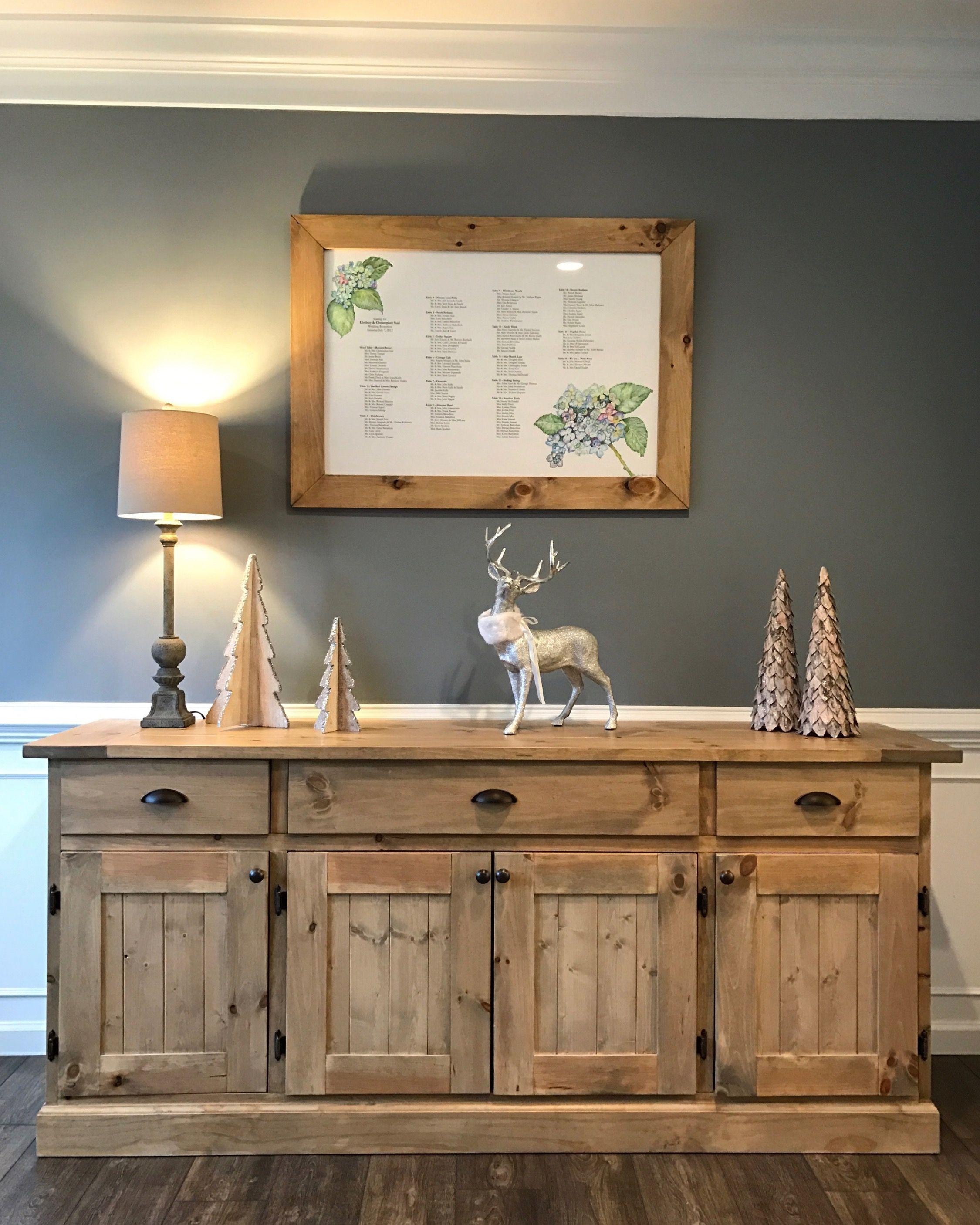 Dining Room Buffet Decorating Ideas: @MidAtlanticRustic Etsy Shop Dining Room Buffet