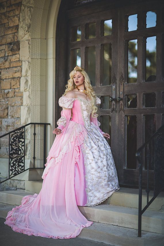 Sample Sale Pink Ombre Sleeping Beauty Princess Medieval Fantasy ...