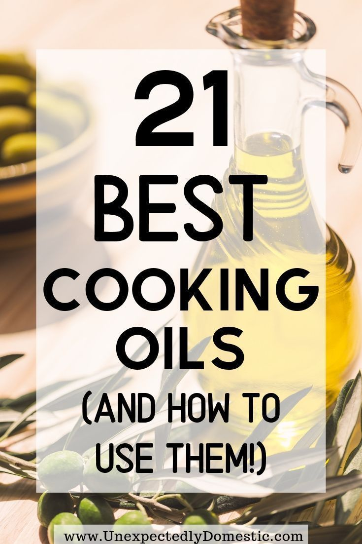 Photo of The Different Types of Cooking Oils and Their Benefits (with chart!)