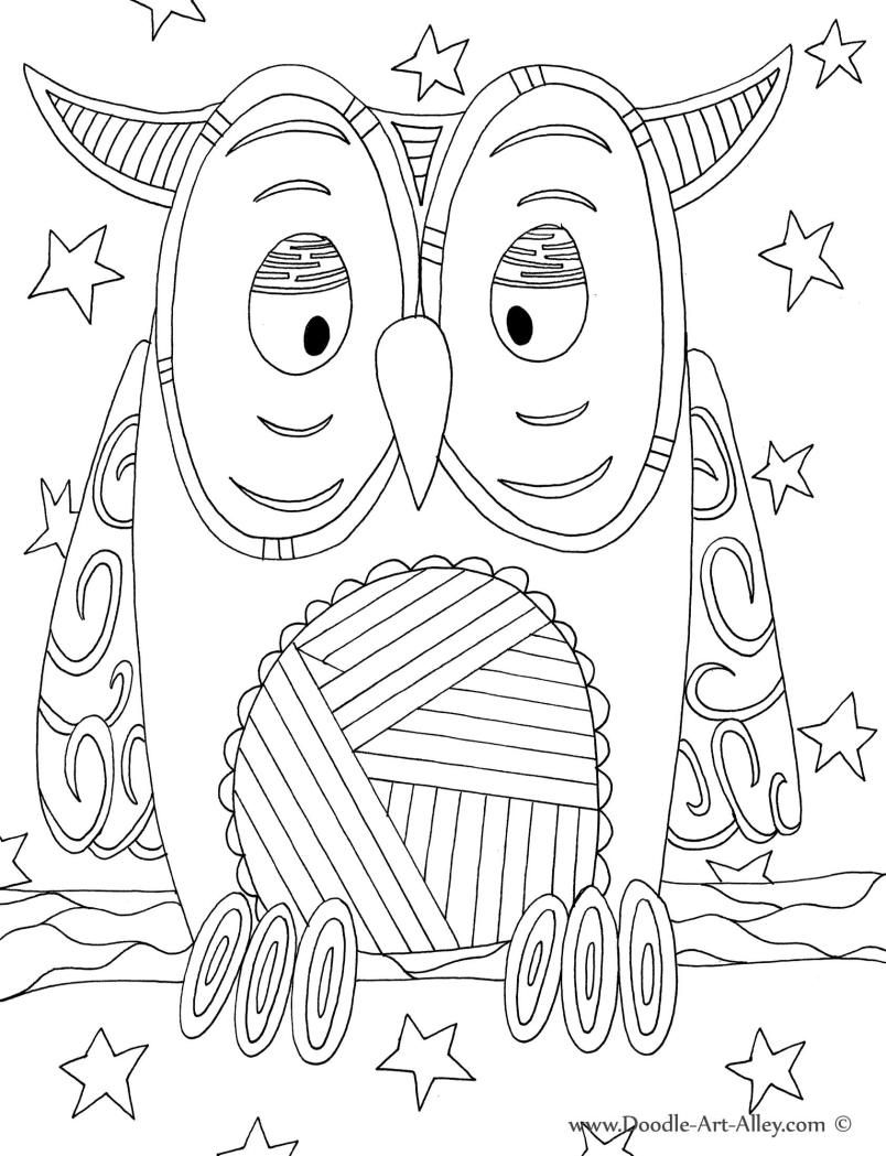 owl.jpg | Bird coloring pages, Coloring pages, Animal ...