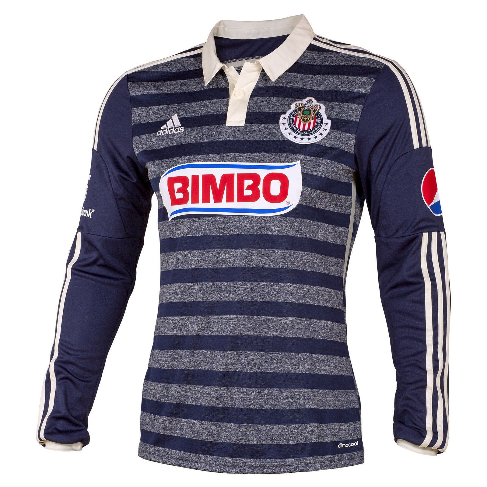 dab2b883258 ADIDAS CHIVAS DE GUADALAJARA LONG SLEEVE AWAY JERSEY 2014 Cheer on the  Goats Pledge your allegiance