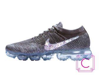 76ae2a4ff95b Women s Nike® Air Vapormax Flyknit w SWAROVSKI® Crystals - Swarovski Nikes  - Custom Shoes - Bling nikes - Swarovski Vapormax