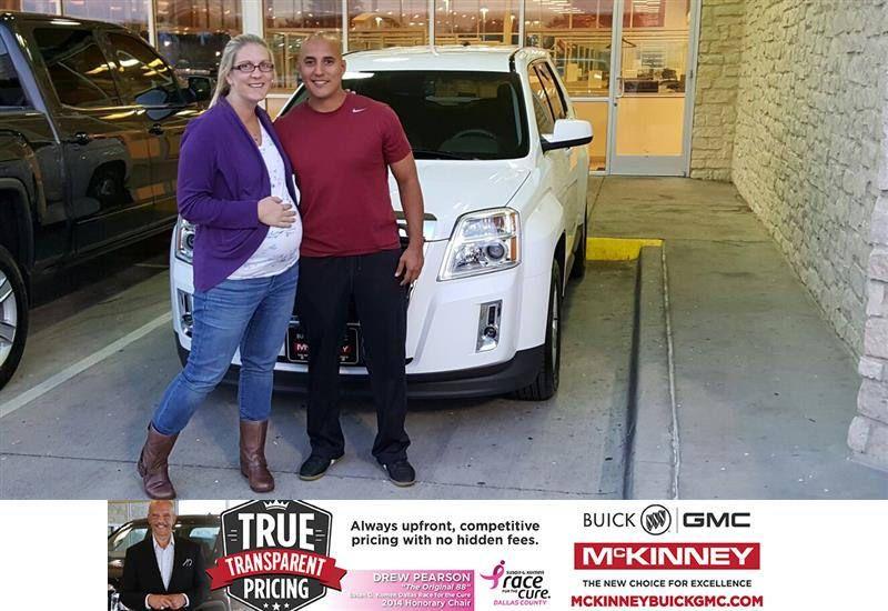 https://flic.kr/p/zyeVXG   Congratulations Jessica on your #GMC #Terrain from Mr. Yomi at McKinney Buick GMC!   deliverymaxx.com/DealerReviews.aspx?DealerCode=ZAKC