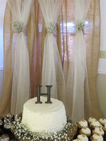 Rustic Backdrop Wedding Decorations Event Rentals Decor
