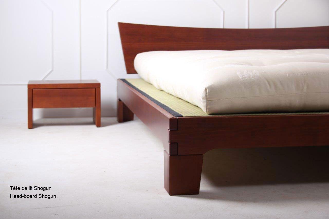 Exemple avec tatamis matelas naturel chevet japan avec tiroir t te de lit - Tete de lit avec tiroir ...