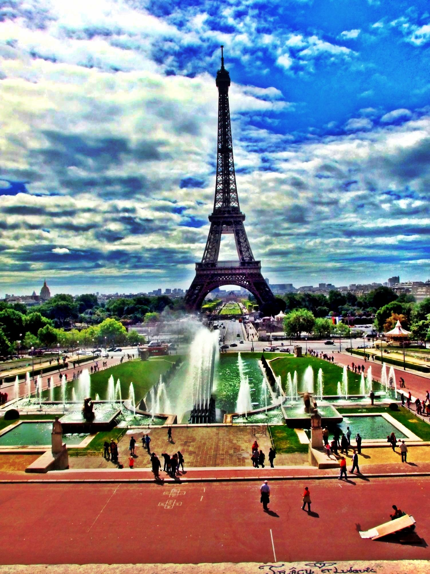 Favorite vacation spot for residents and guests of Paris