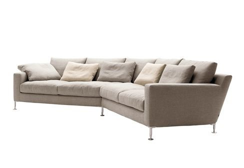 B Italia Harry Large Angled Sofa
