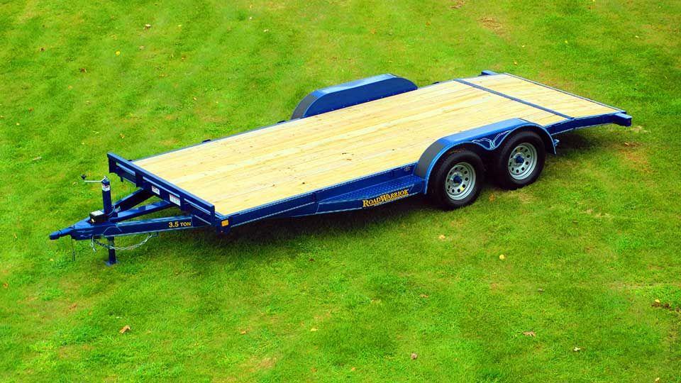 Wood Floor Car Hauler Trailer Johnson Trailer Co Car Hauler Trailer Trailer Car Trailer