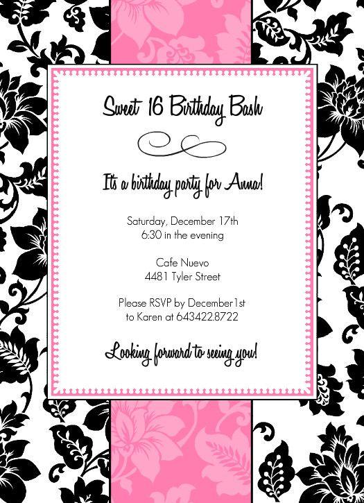 invitations cards lp398390 purple