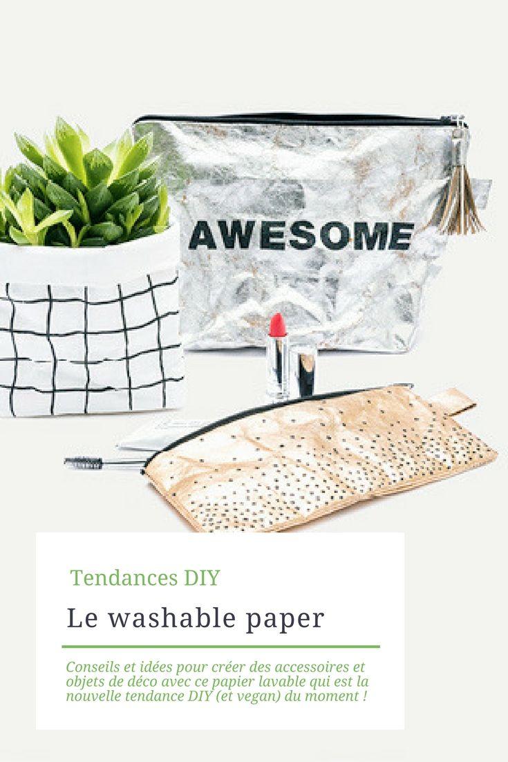 Le Washable Papier Lavable A L Aspect De Cuir Froisse Pour Des