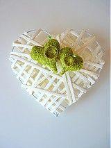 - svadobné srdce na obrúčky... - 2877200